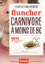 Promos et remises Flunch : Devenez carnivore à - de 8€