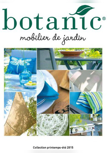 Catalogue printemps t mobilier de jardin 2015 botanic for Catalogue jardin 2015 honda