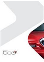 Catalogues et collections Fiat : Découvrez la Fiat 500X