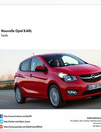 Catalogues & collections Distributeur OPEL L.C.R. MOTORS SARL (REDON) REDON : Découvrez la nouvelle Opel Karl