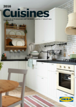 Promos et remises  : La brochure Cuisines 2016