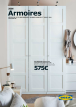 Catalogues et collections IKEA : La brochure Armoires 2016