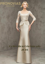 Catalogues et collections Pronovias : Lookbook Collection Cérémonie 2016