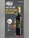 Prospectus G20 BAINS-SUR-OUST : Foire aux vins Une explosion de saveurs