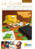 Catalogues et collections Axtem : Le guide petit électroménager Automne Hiver 2015