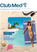 Promos et remises  : Brochure Destinations Soleil  2016 2017