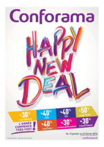 Prospectus Conforama : Happy New Deal