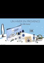 Bons Plans L'Occitane : 10€ la trousse: Un hiver en provence