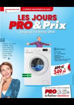 Prospectus PRO & Cie : Les jours Pro&Cie