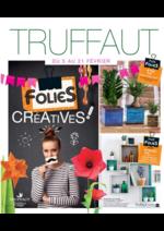 Prospectus Truffaut : Folies créatives