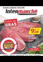 Prospectus Intermarché Super : Foire au gras