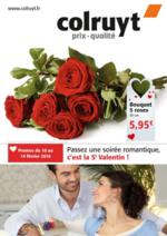 Prospectus Colruyt : Passez une soirée romantique, c'est la St Valentin !