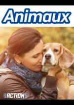 Prospectus Action : Animaux