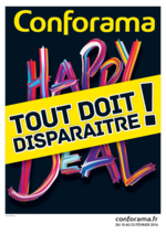 Prospectus Conforama : Happy New Deal : Tout doit disparaître