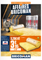 Prospectus Bricoman : Affaires Bricoman