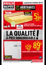 Prospectus Brico Dépôt : La qualité à prix immanquable !