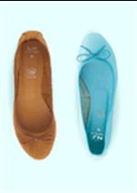 Bons Plans La Halle aux Chaussures : La 2ème paire de ballerines femme à 15€