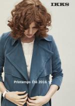 Catalogues et collections IKKS : Lookbook femme printemps 2016