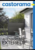 Catalogues et collections Castorama : Guide 2016 Aménagement extérieur