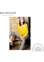 Catalogues et collections Promod : Les essentiels du dressing printemps