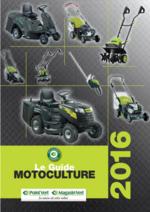 Catalogues et collections Magasin Vert : Le guide motoculture 2016