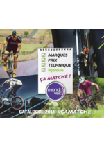 Catalogues et collections Mondovélo : Le catalogue 2016