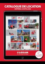 Catalogues et collections Loxam : Le catalogue de location 2016