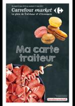 Promos et remises  : Ma carte traiteur