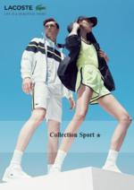 Catalogues et collections Lacoste : Lookbook Collection Sport printemps été 2016