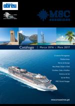 Catálogos e Coleções Abreu : MSC Cruzeiros 2016-2017
