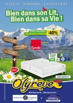 Prospectus Olyrêve : Bien dans son lit, Bien dans sa vie ! Profitez de nos remises