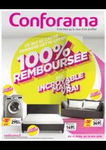 Prospectus Conforama : Ce qui se cache derrière cette offre 100% remboursée est incroyable mais vrai