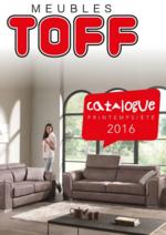 Catalogues et collections Meubles Toff : Catalogue printemps - été