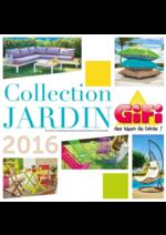 Promos et remises  : Collection Jardin 2016