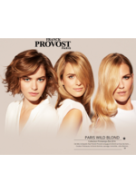 Catalogues et collections Franck Provost : Collection printemps été 2016 Paris Wild Blond