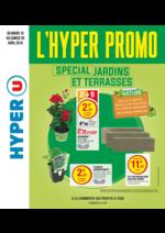 Prospectus Hyper U : L'hyper promo spécial jardins et terrasses