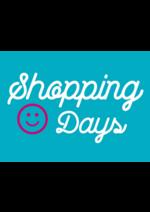 Promos et remises  : Shopping Days jusqu'à -50%