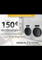 Promos et remises  : Whirlpool jusqu'à 150€ remboursés