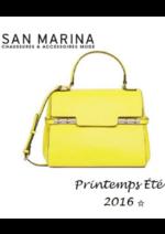 Catalogues et collections San Marina : Lookbook femme printemps-été 2016