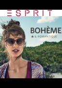 Catalogues et collections Esprit VELIZY-VILLACOUBLAY Centre Commercial de Vélizy 2 / Avenue de l'Europe 1 : Le lookbook bohème & romantique
