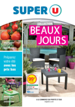 Prospectus Super U : Collection beaux jours
