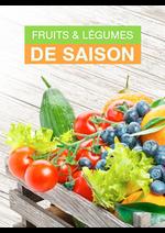 Promos et remises  : Fruits & légumes de saison