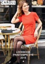Catalogues et collections Caroll : Lookbook printemps été 2016