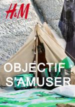 Catalogues et collections H&M : Objectif: s'amuser