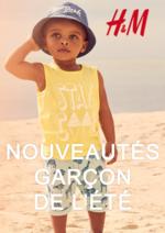 Catalogues et collections H&M : Les nouveautés garçon de l'été