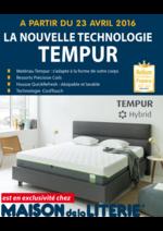 Catalogues et collections maison de la literie : La nouvelle technologie TEMPUR