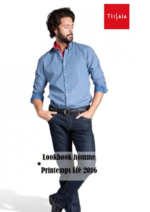 Catalogues et collections E.Leclerc : Lookbook homme printemps été 2016
