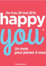 Catalogues et collections Boulanger : Happy You, un mois pour penser à vous