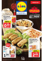 Prospectus Lidl : VITASIA: toutes les saveurs de l'Asie!