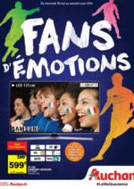 Prospectus Auchan : Fans d'émotions